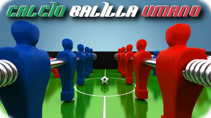 Torneo di Calcio Balilla Umano